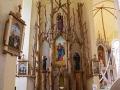 Girdiškės bažnyčios altorius. 2012